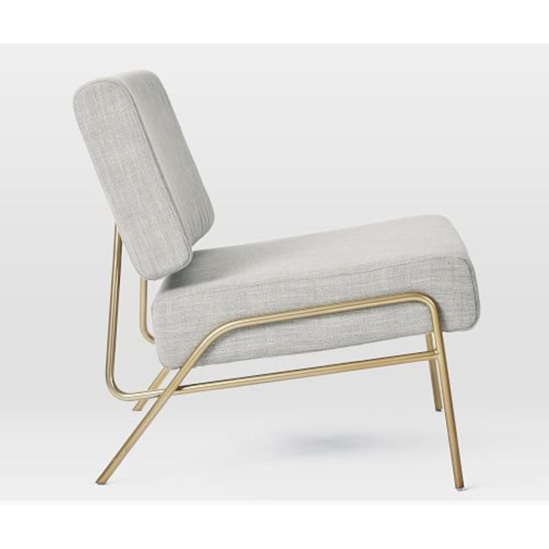West Elm Wire Frame Slipper Chair-2