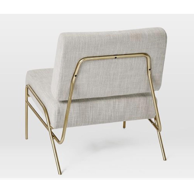 West Elm Wire Frame Slipper Chair-4