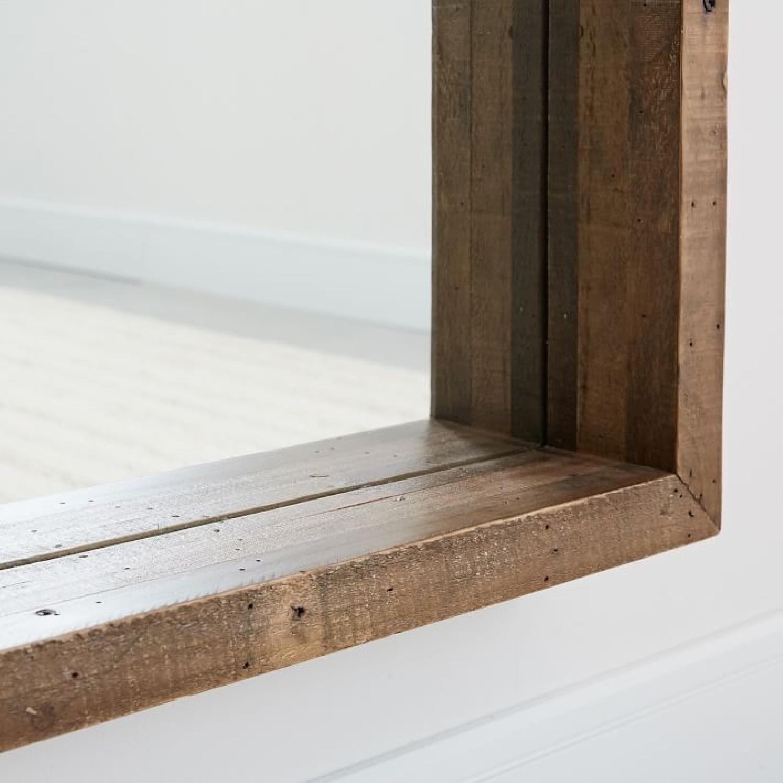 West Elm Emmerson Modern Reclaimed Wood Floor Mirror-1