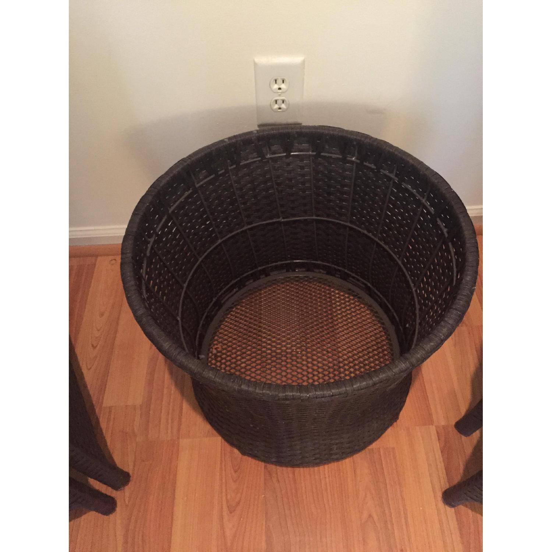 Threshold Loft 5-Piece Wicker Patio Conversation Furniture Set - image-3