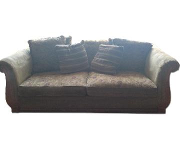 Brown Living Room Couch