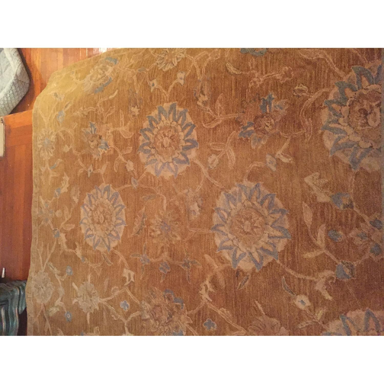 Safavieh Gold & Blue Wool Rug - image-2
