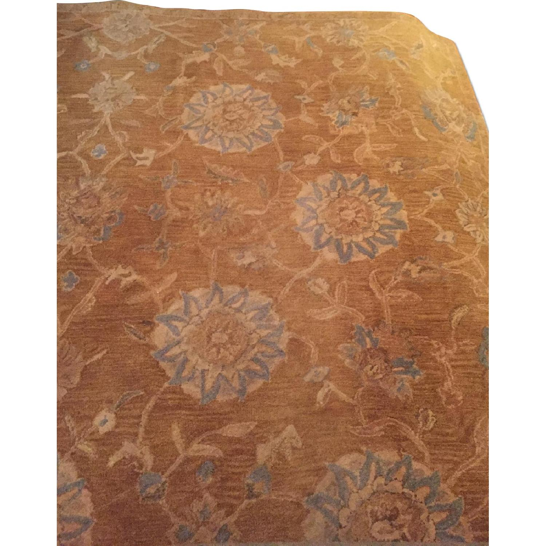 Safavieh Gold & Blue Wool Rug - image-0