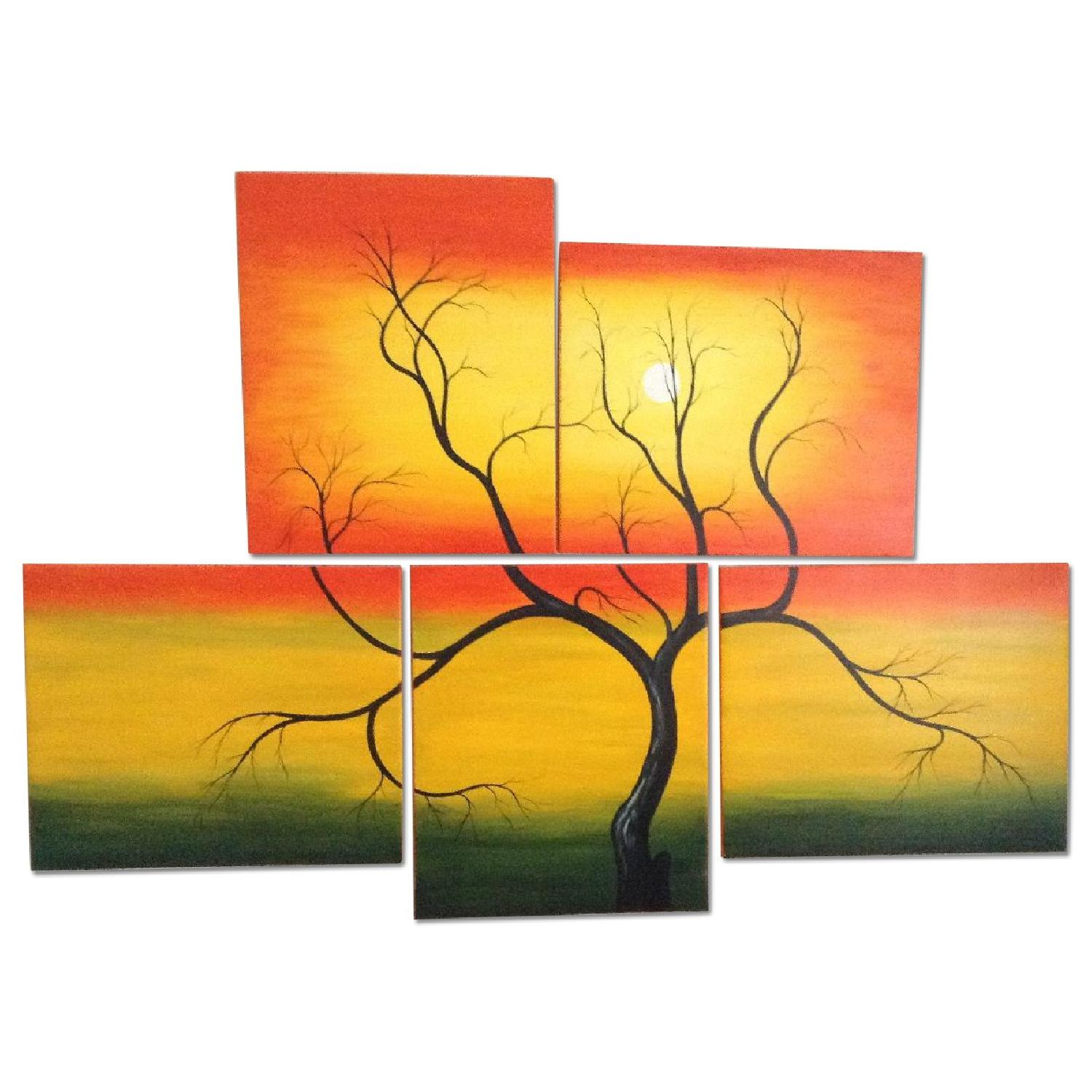 5 Piece Painting - image-0