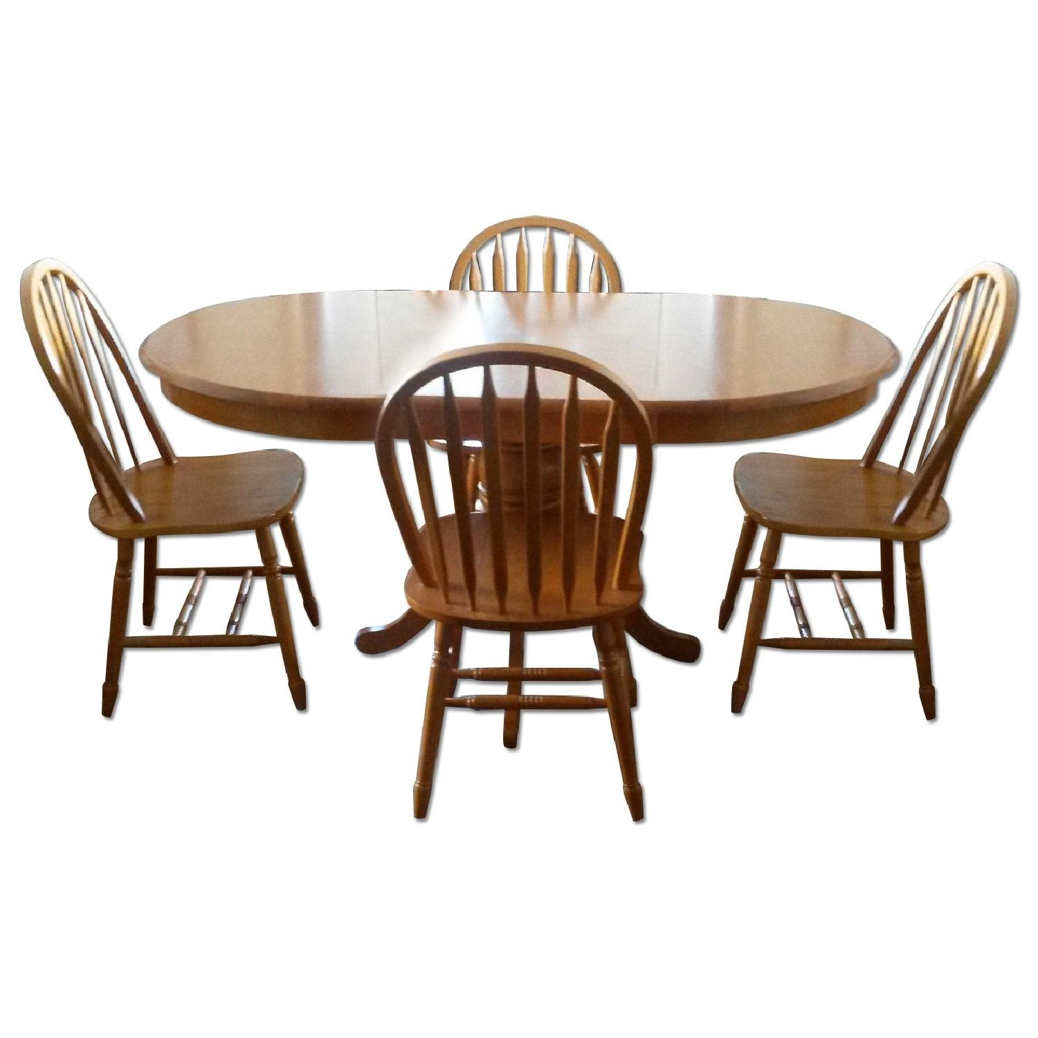 Pedestal Dining Table - image-0
