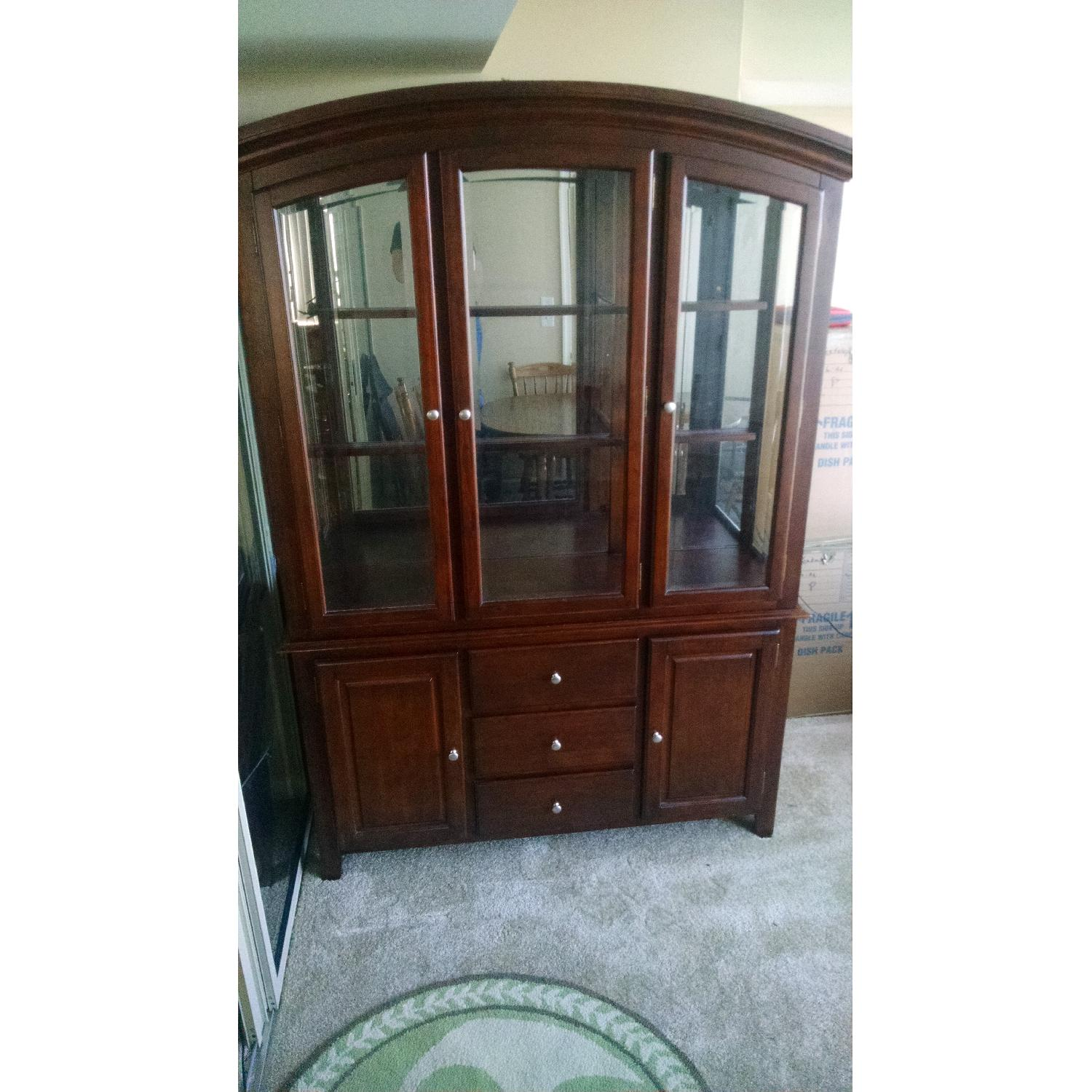 Lighted China Cabinet - image-1