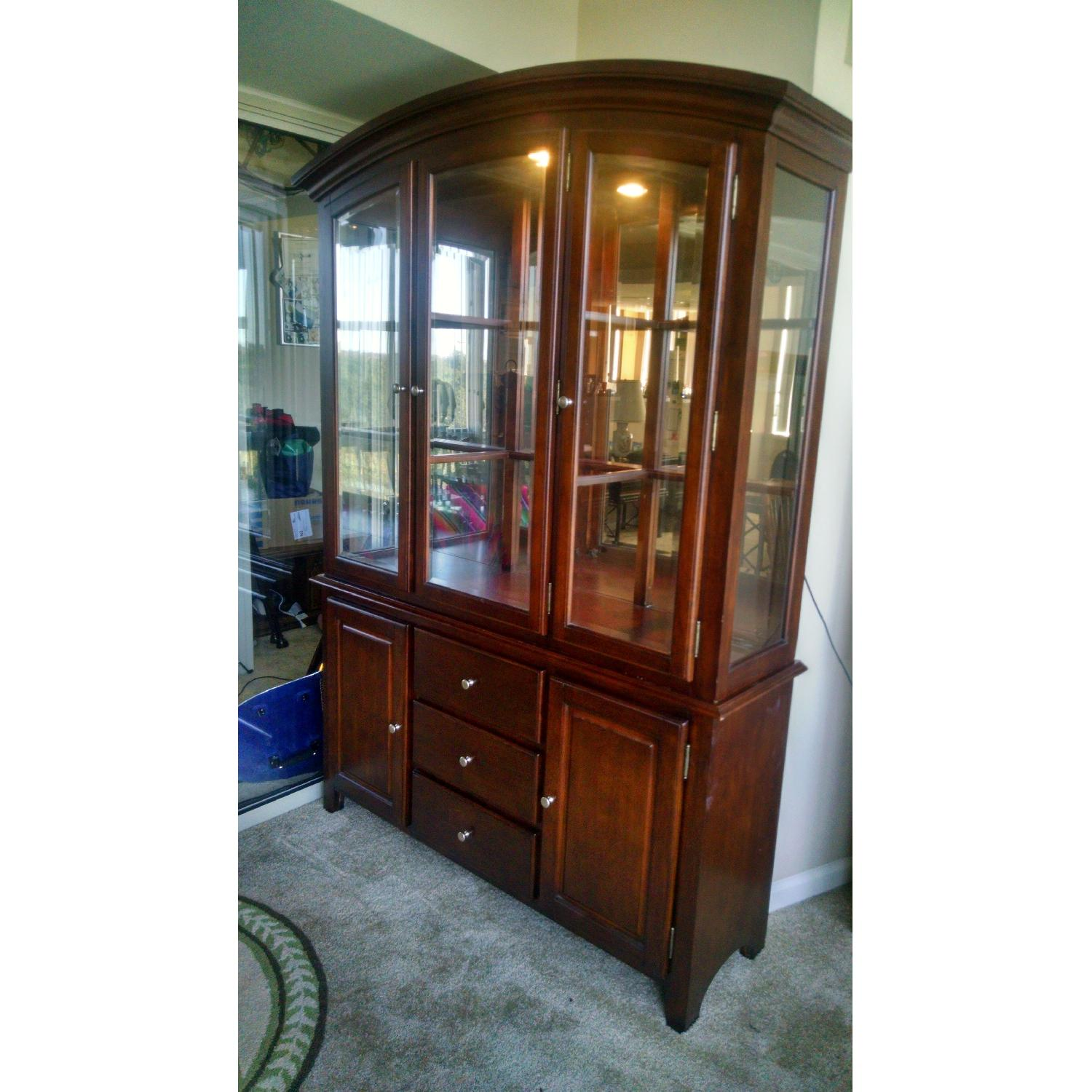 Lighted China Cabinet - image-2