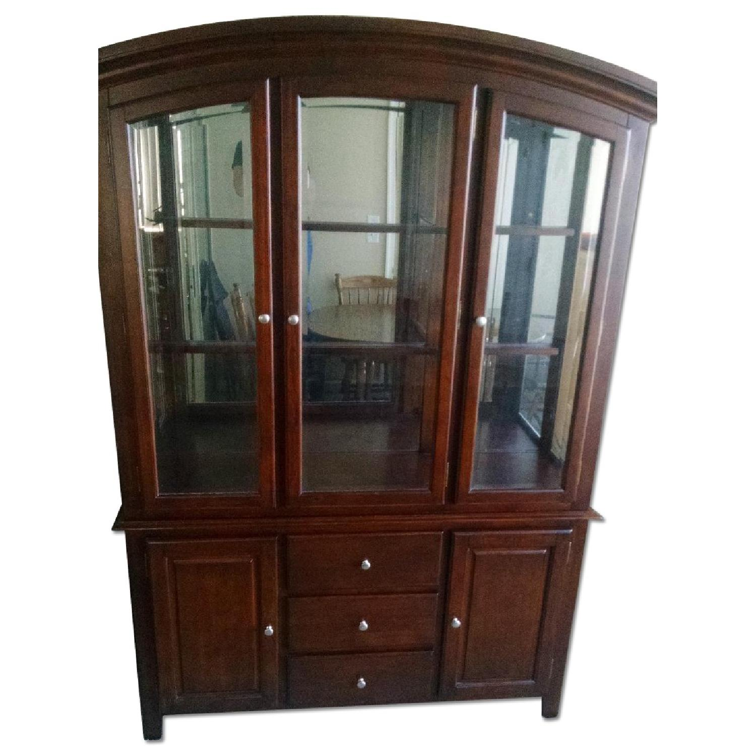 Lighted China Cabinet - image-0