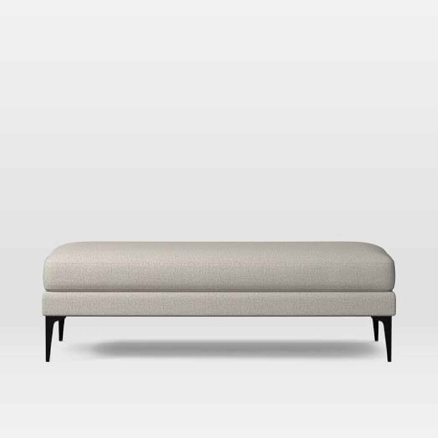 West Elm Andes Sofa & Bench-3