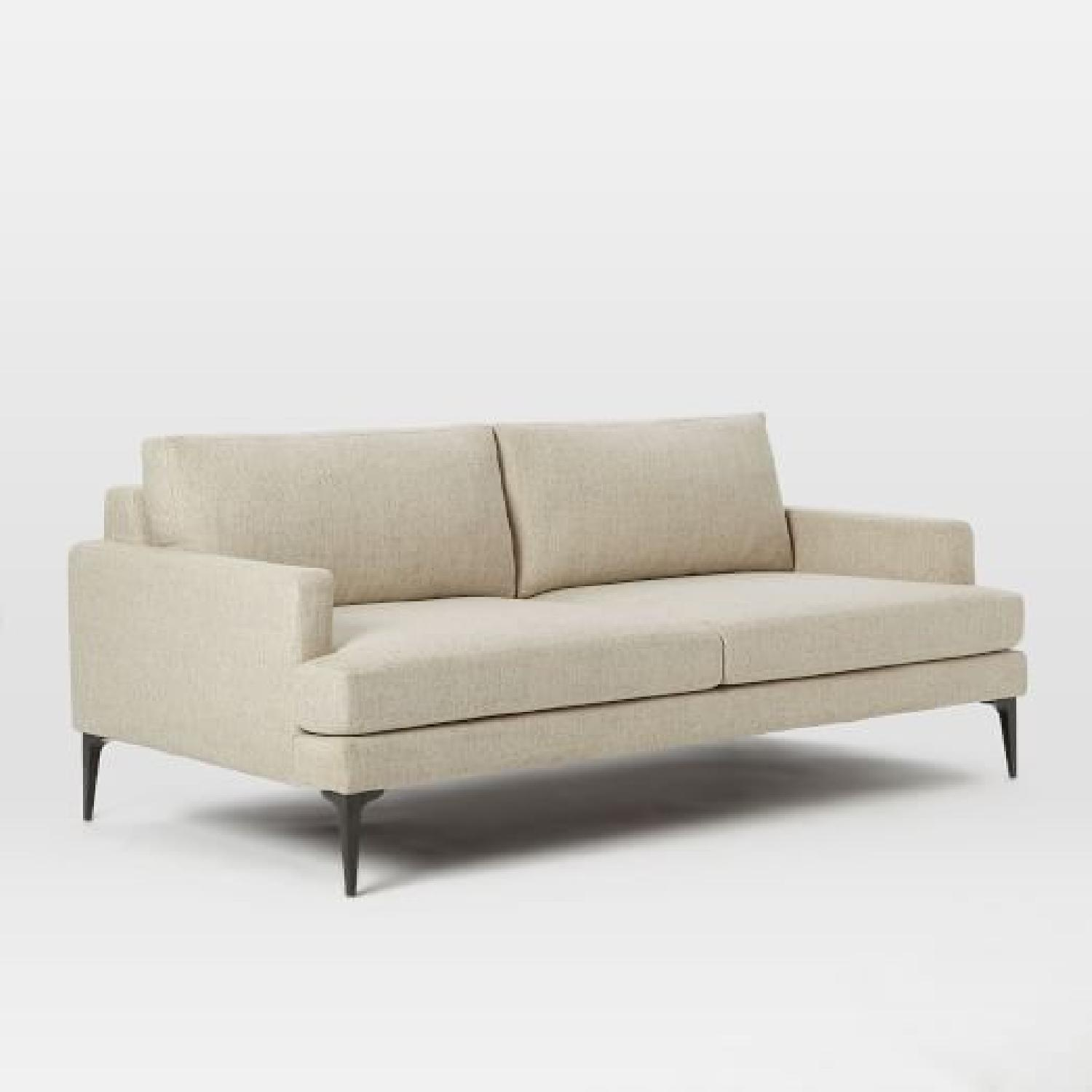 West Elm Andes Sofa & Bench-4