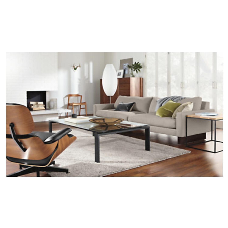 Room & Board Hess Sofa in Trip Linen-1