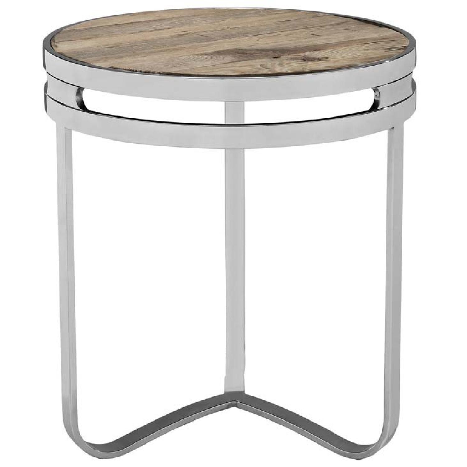 Manhattan home Design Provision Wood Top Side Table-2