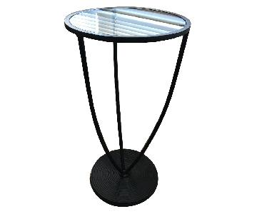 Pier 1 Round Metal Side Table