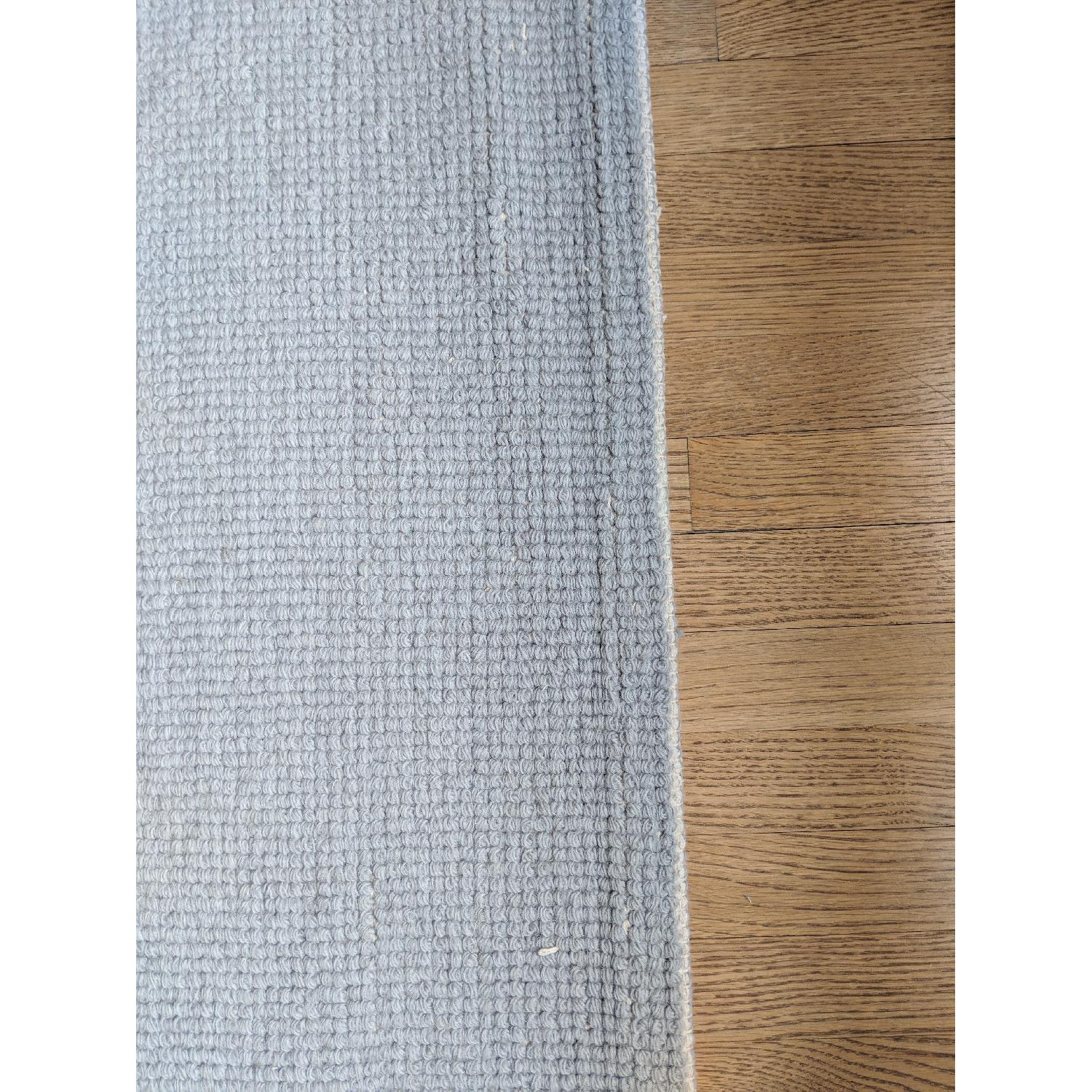 ABC Carpet and Home Grey Wool Area Rug-1