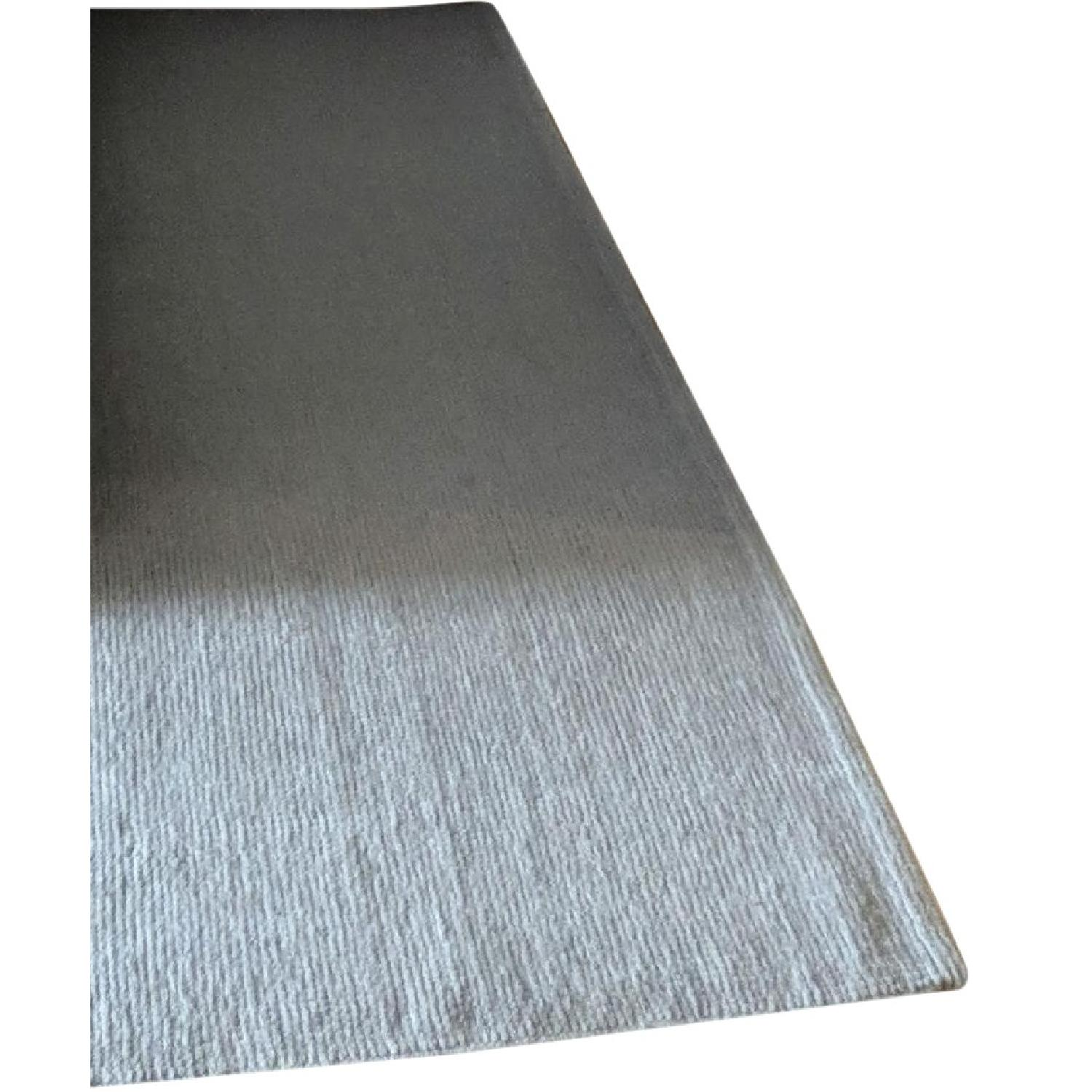 ABC Carpet and Home Grey Wool Area Rug