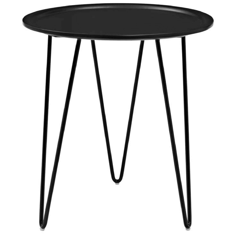 Manhattan Home Design Versatile Side Table in Black