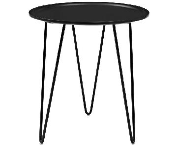 Manhattan Home Design Versatile Side Table in Black