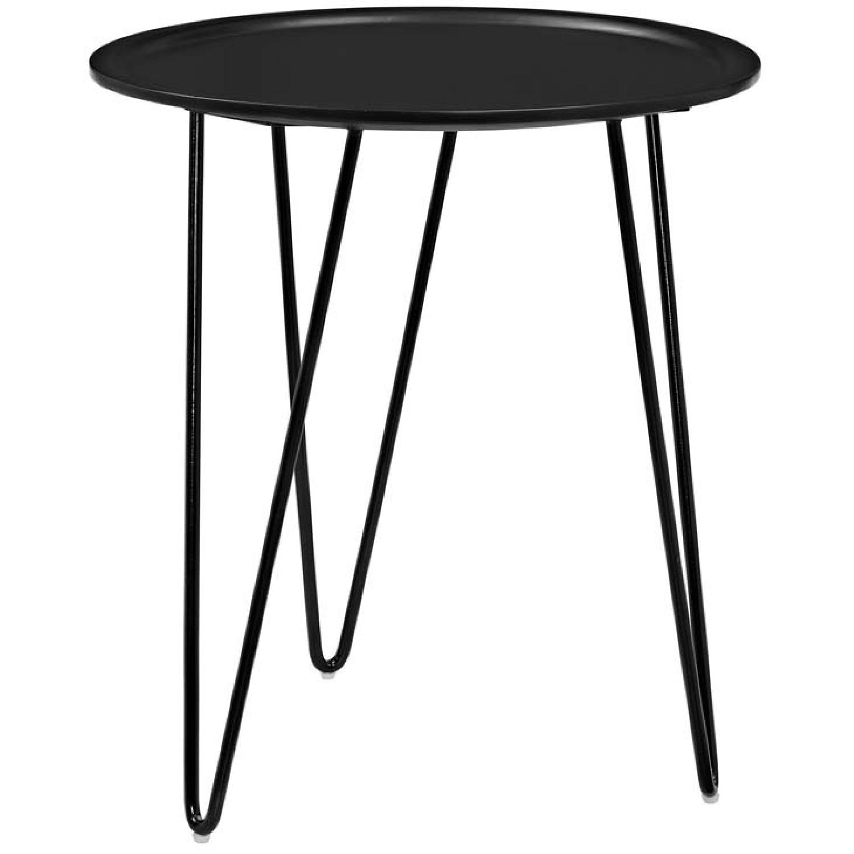 Manhattan Home Design Versatile Side Table in Black-3
