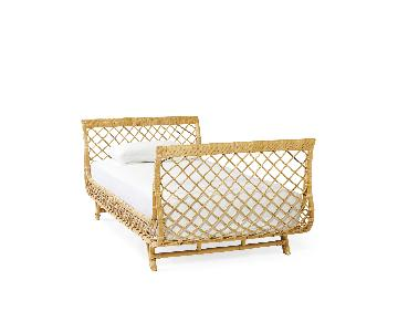 Serena & Lily Rattan Daybed