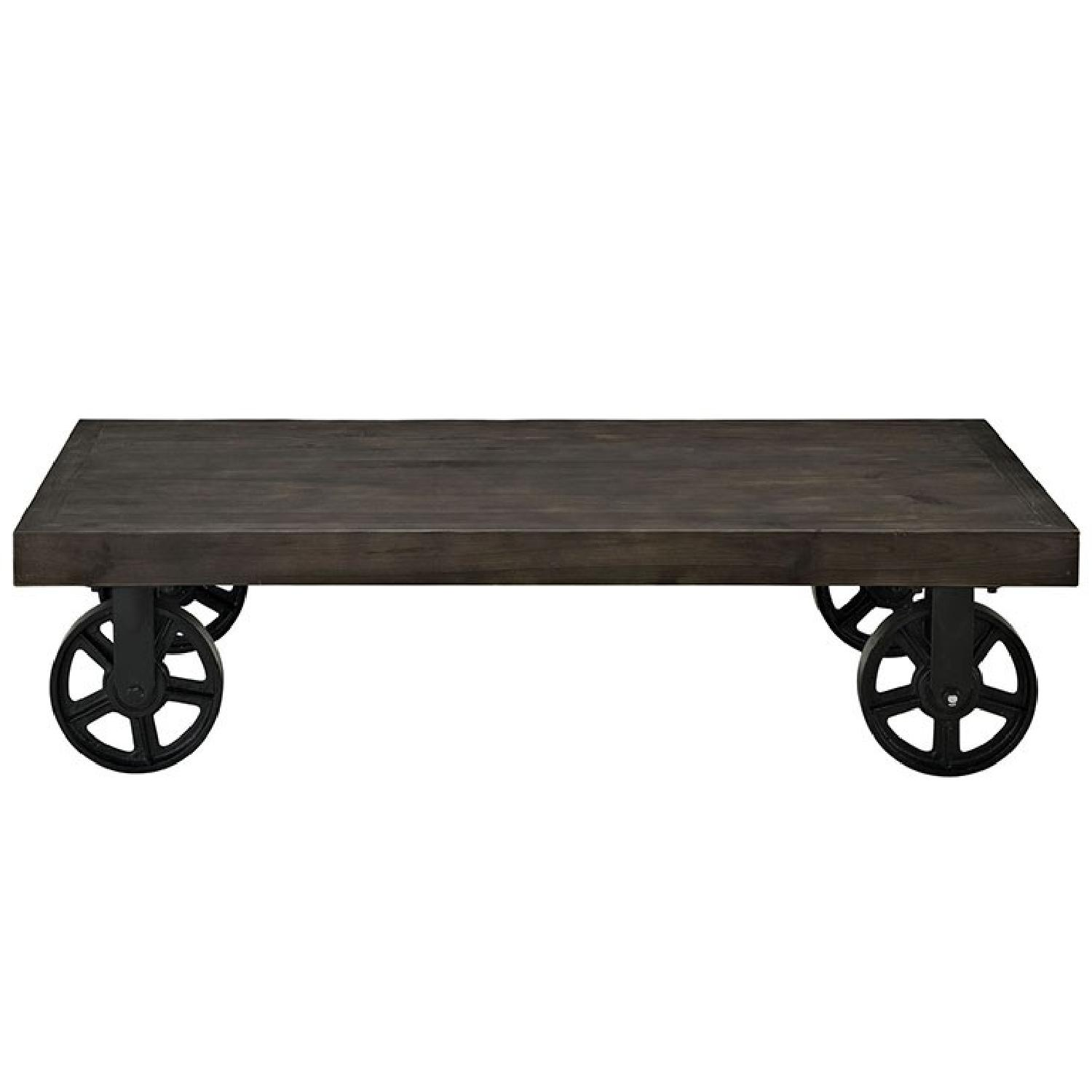 Manhattan Home Design Garrison Wood Coffee Table-0