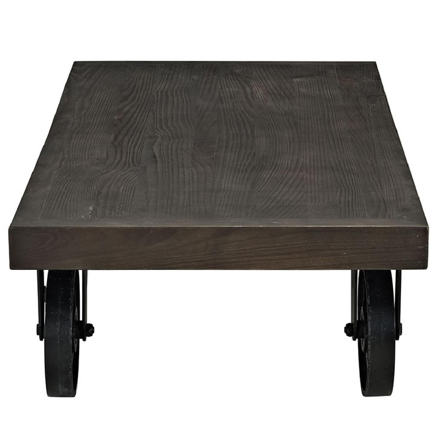 Manhattan Home Design Garrison Wood Coffee Table-1