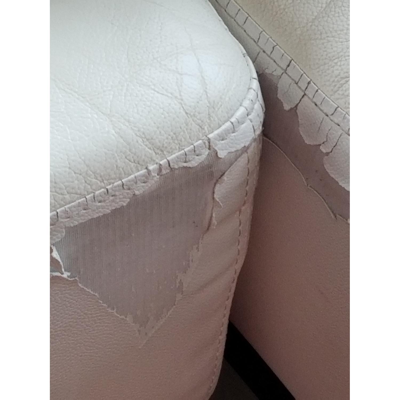 Modani White Eco Leather Phantom Sectional Sofa-6