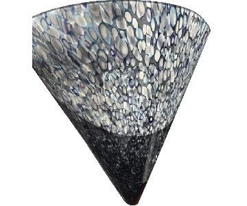 Artisanal Glass Wall Sconce