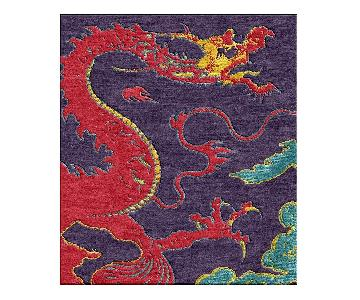 Shivhon Ryu Dragon Hand-Tufted Area Carpet