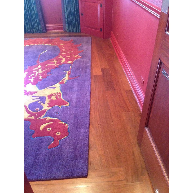 Shivhon Ryu Dragon Hand-Tufted Area Carpet-0