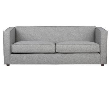 CB2 Club Sofa in Felt Grey