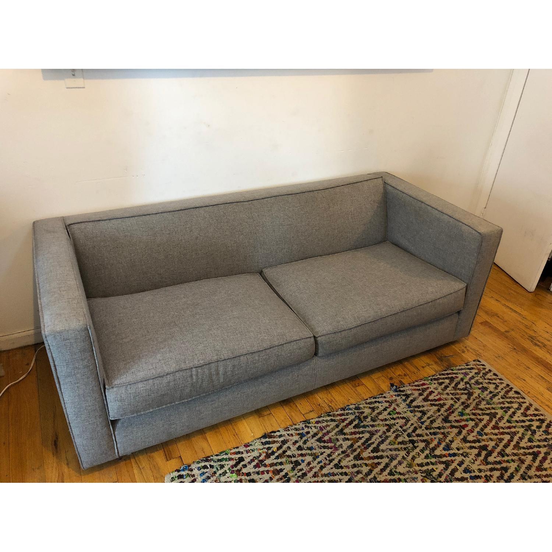 CB2 Club Sofa in Felt Grey-1
