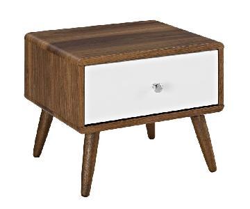 Manhattan Home Design Transmit Wood Nightstand