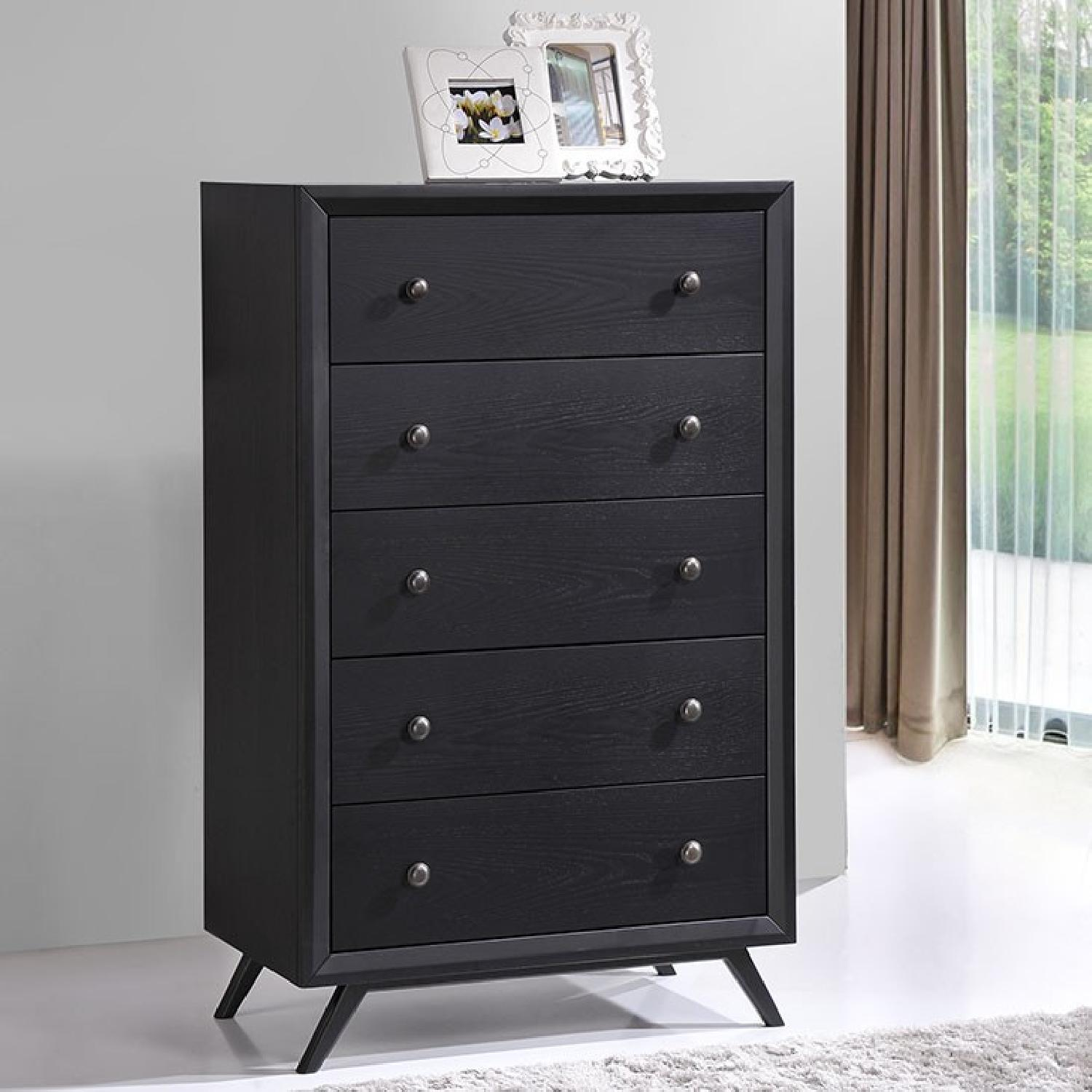 Manhattan Home Design Modern Chest in Black-2