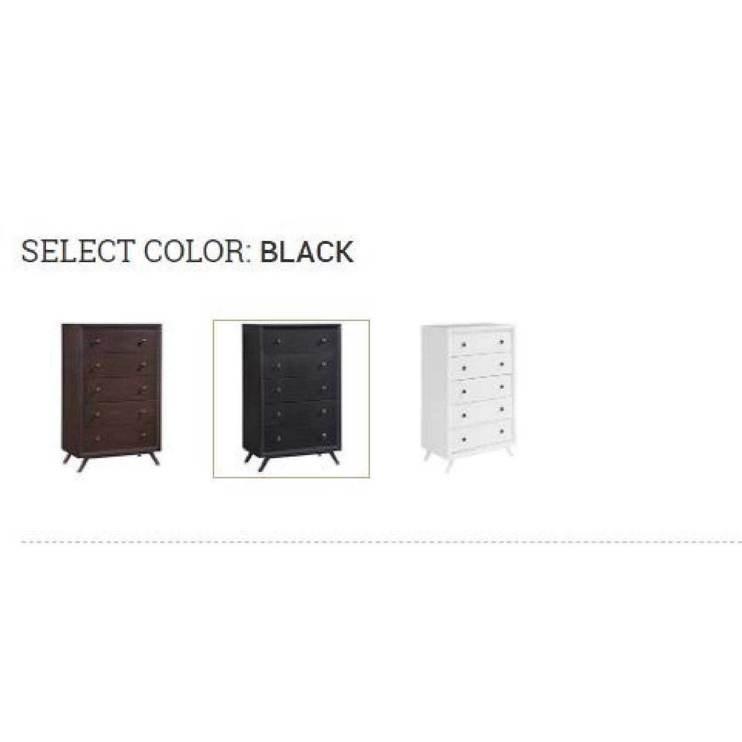 Manhattan Home Design Modern Chest in Black-3