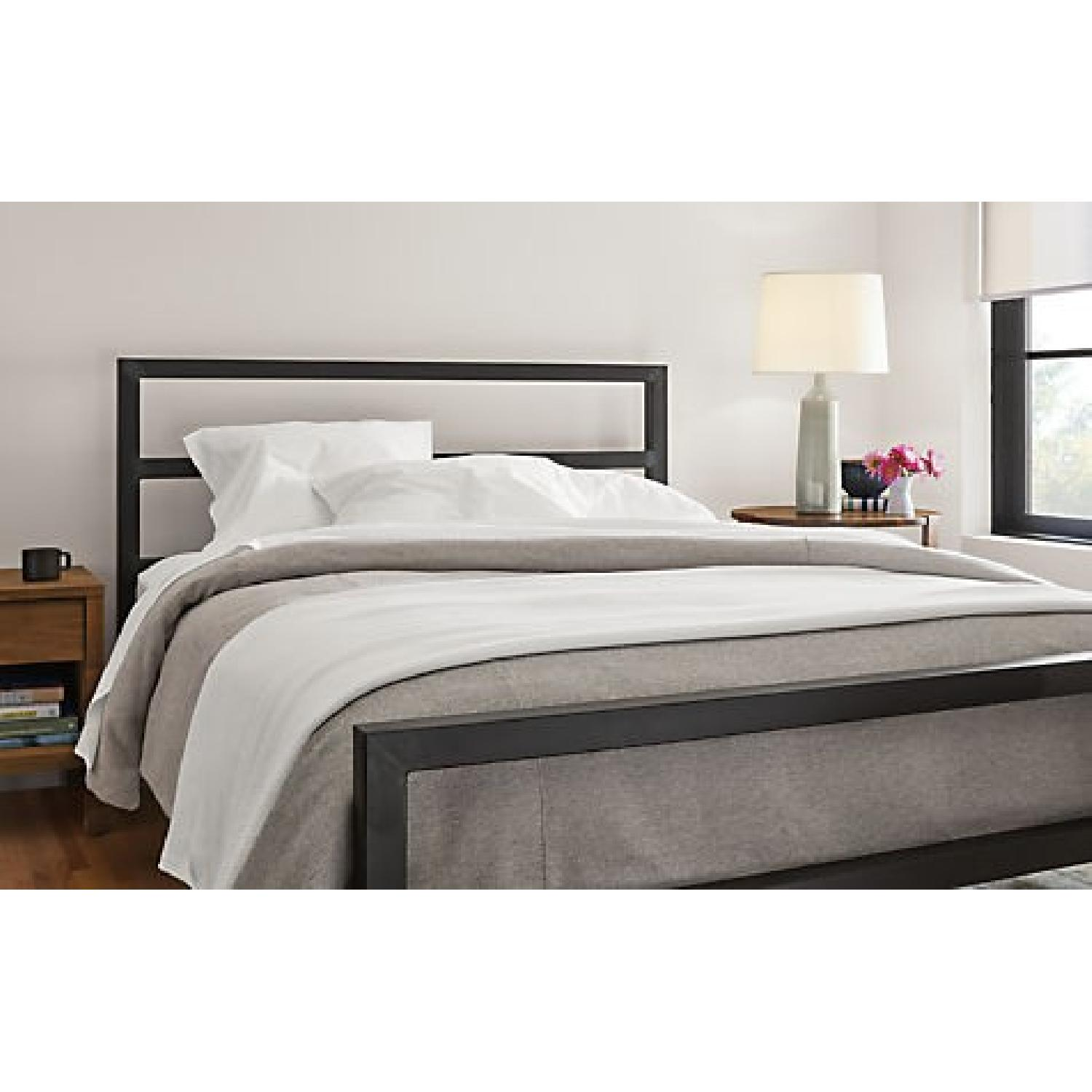 Room & Board Parsons Natural Steel Bed-1