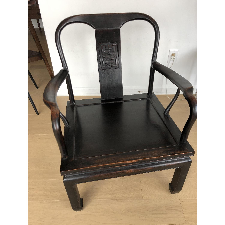 Antique Asian Accent Chair-0