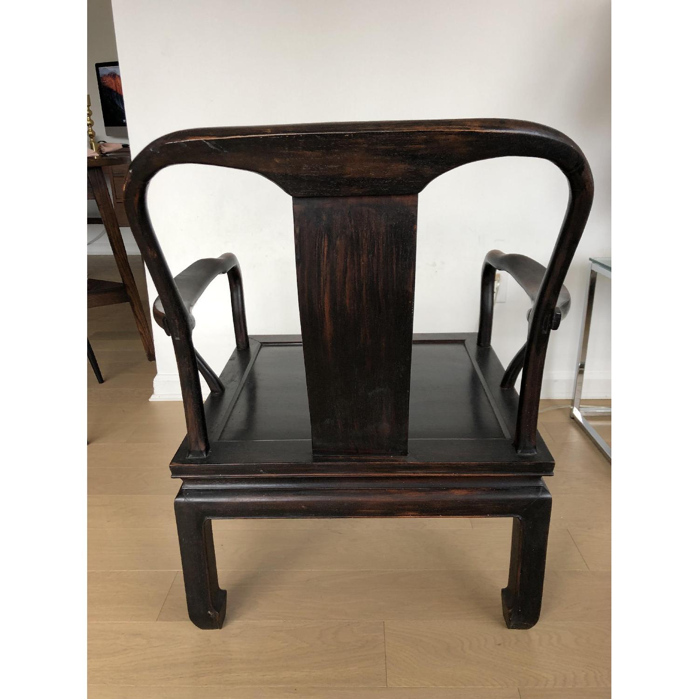 Antique Asian Accent Chair-2