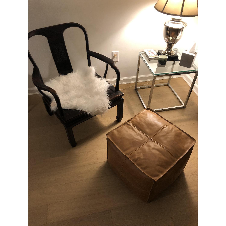 Antique Asian Accent Chair-7
