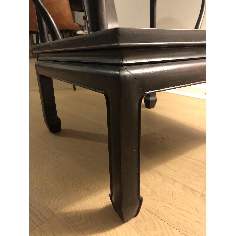 Antique Asian Accent Chair-9