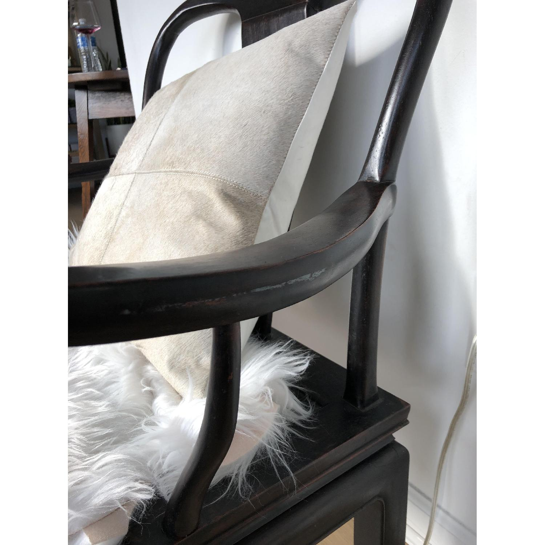 Antique Asian Accent Chair-10