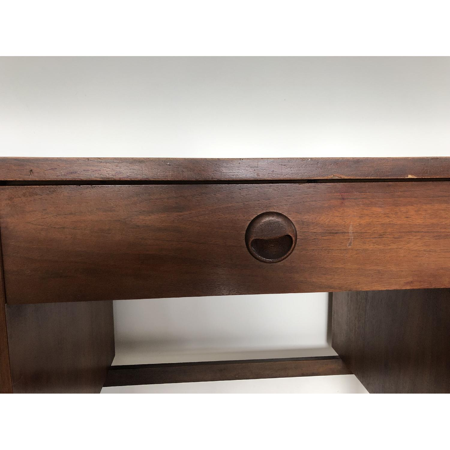 Antique Mid-Century Modern Desk-1