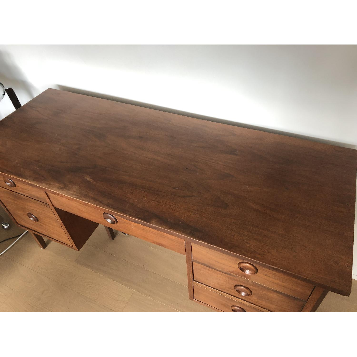Antique Mid-Century Modern Desk-4