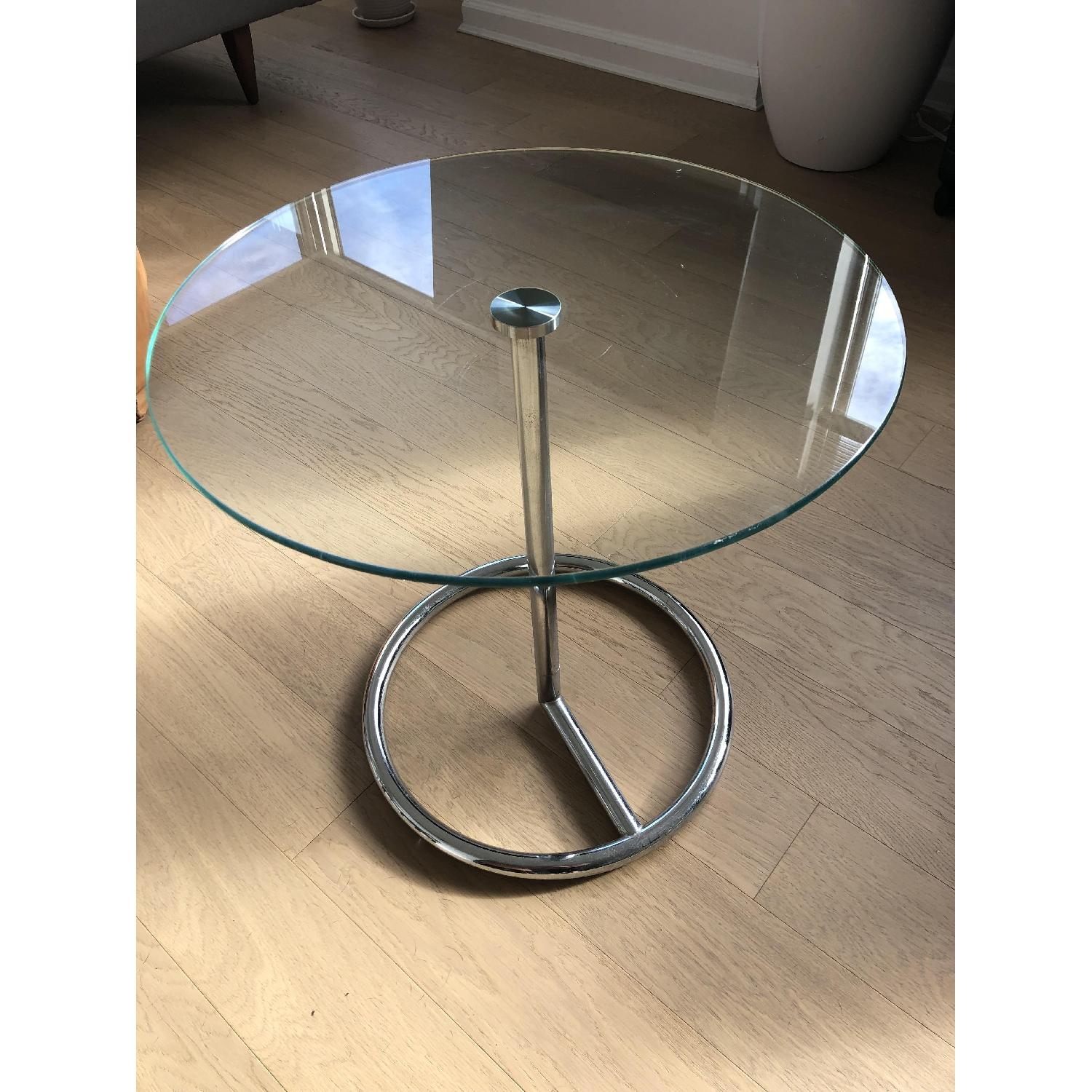 CB2 Smart Round Side Table-2