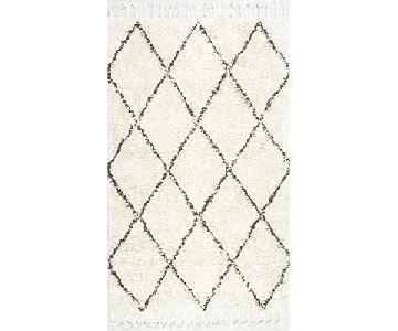 nuLoom Moroccan Shaggy Wool Rug