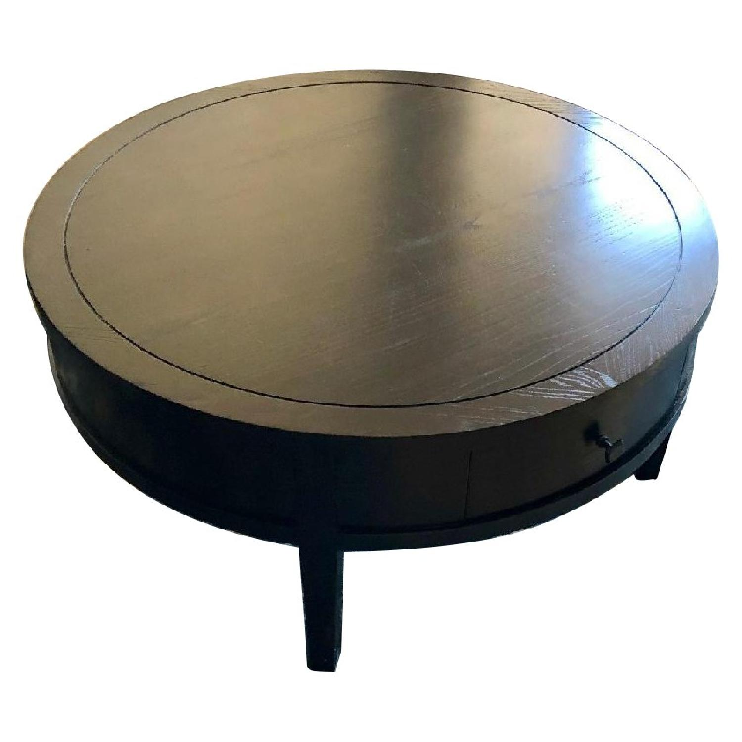 Room & Board Wood Round Coffee Table