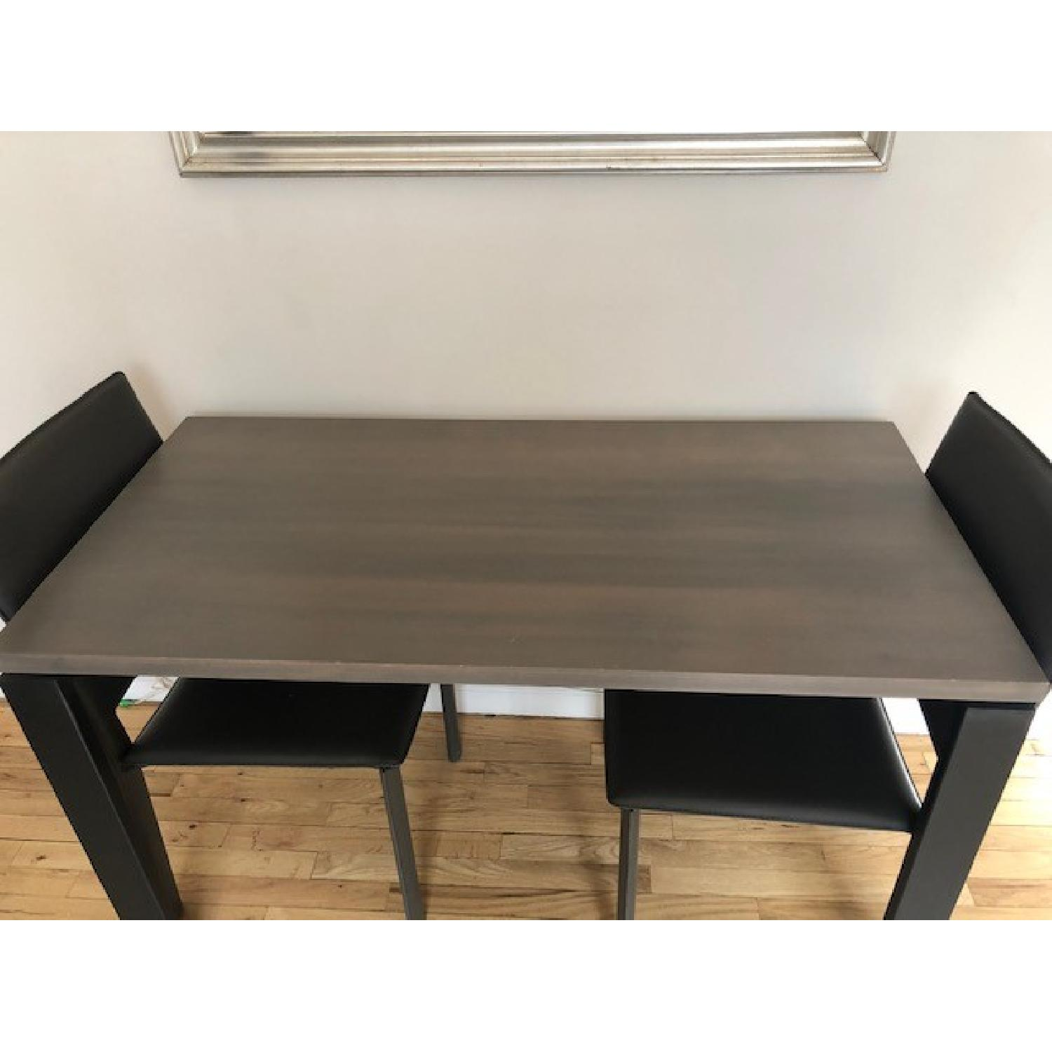Room & Board Counter Table w/ 2 Chairs-1