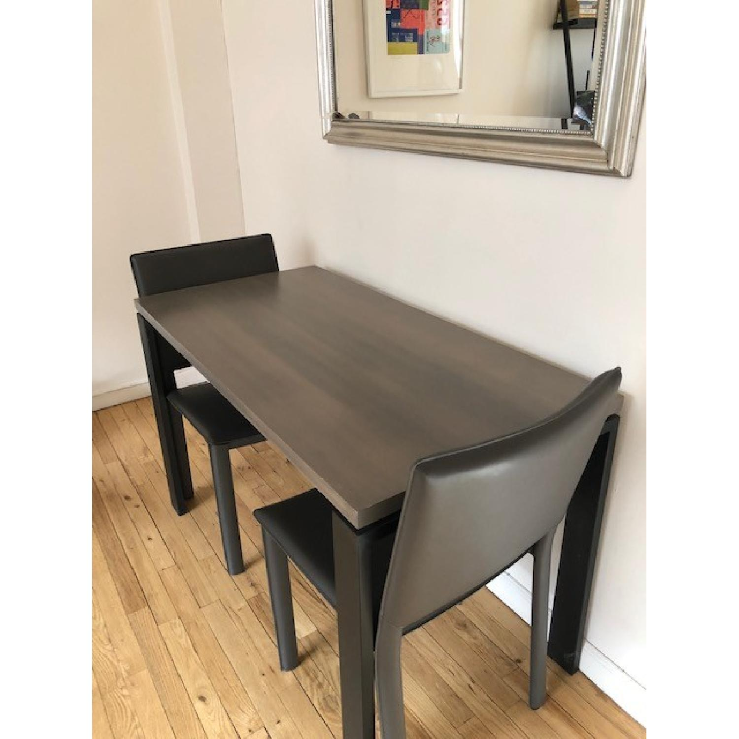 Room & Board Counter Table w/ 2 Chairs-4