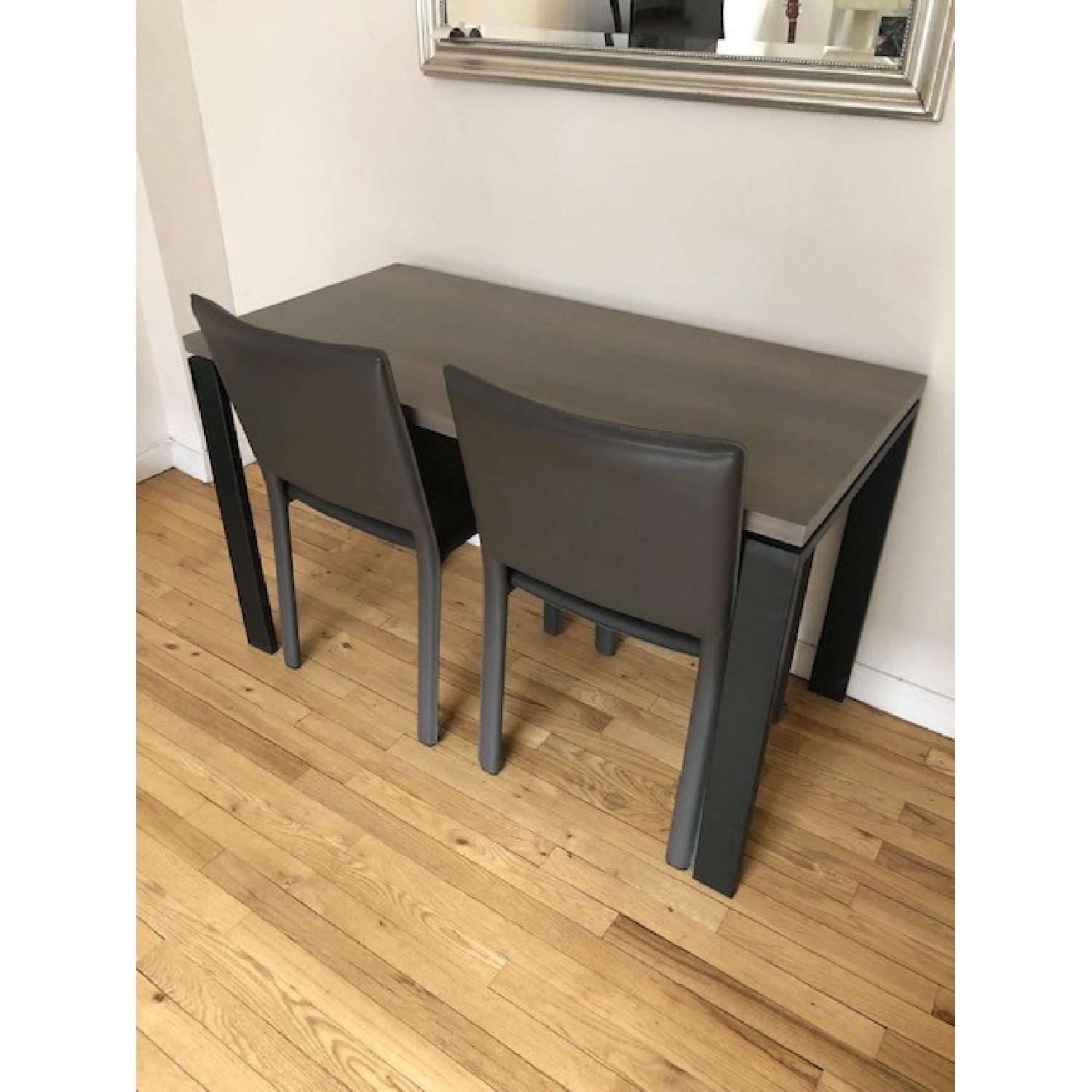 Room & Board Counter Table w/ 2 Chairs-5