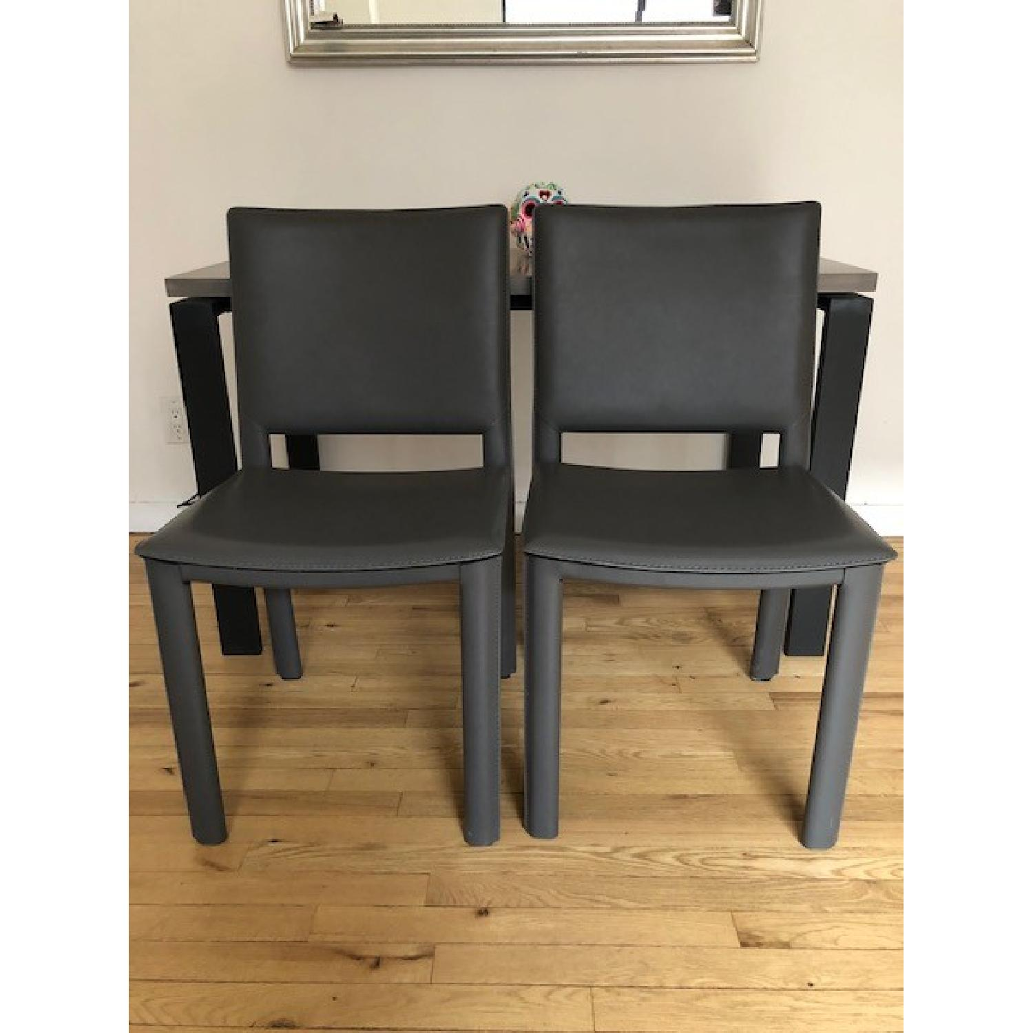Room & Board Counter Table w/ 2 Chairs-6