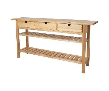 Ikea Kitchen Island/Console